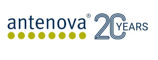 Antenova 20 years banner