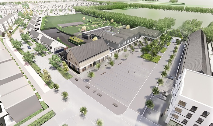 new school -aerial view 1