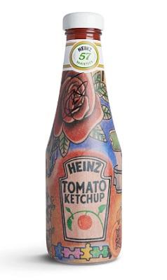 Heinz tomato ketchup bottle special editon