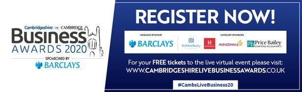 CambridgeshireLive Business Awards banner