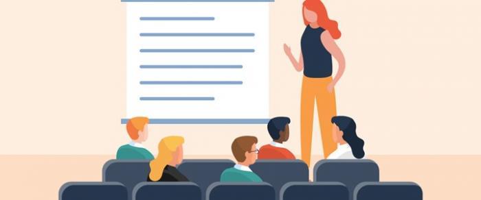 public meeting illustration