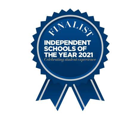 finalist's rosette_ Independent Schools of the Year 2021 awards