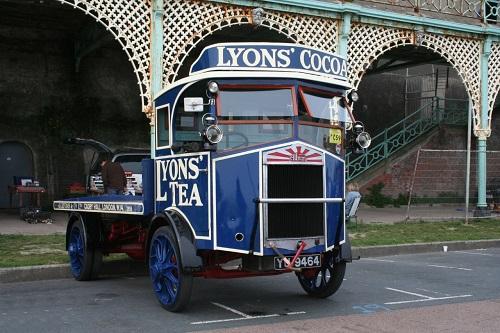 1927 Albion LK35 tea transport lorry