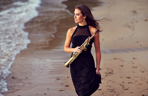 Saxophonist Amy Dickson