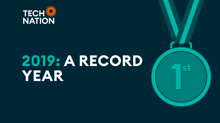2019 a record year - Tech Nation banner