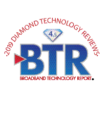 2019 Broadband Technology Report's Diamond Technology Reviews logo