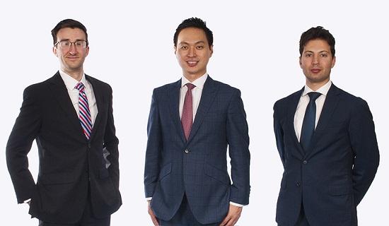 SMAP co founders Paul Monroe, Yohei Kiguchi, Adnan Mortada
