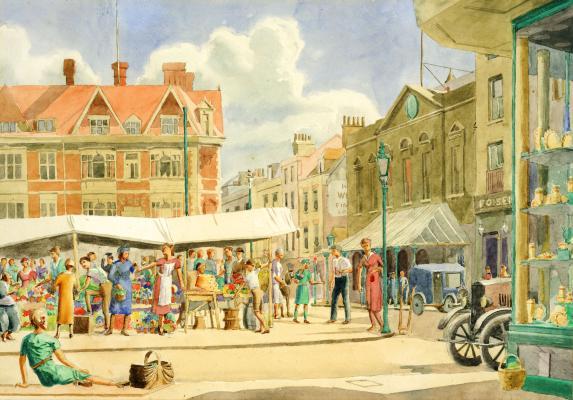 27 Market Place c1930, Cambridge Collection