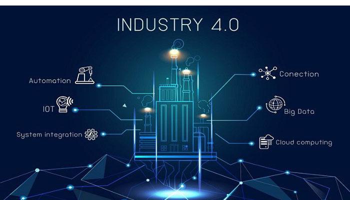 Industry 4.0 illustration