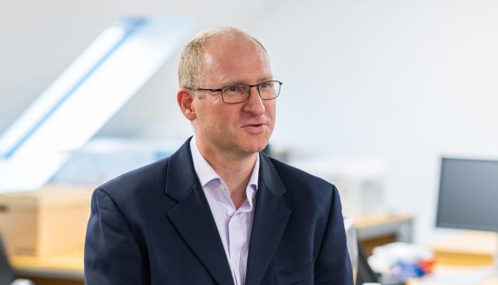Peter Brown, head of manufacturing at 42 Technology