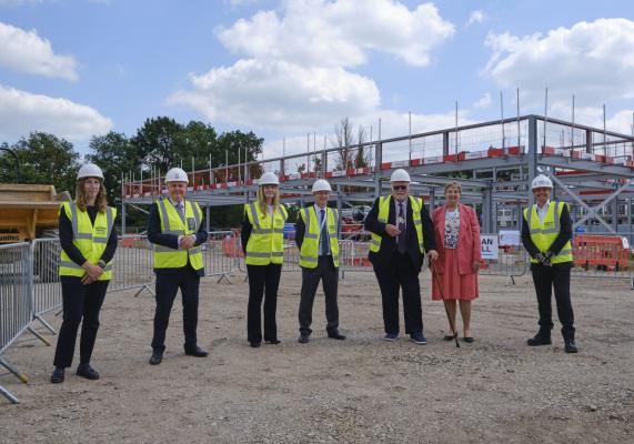 A ground-breaking event celebrated the start on site of Marleigh Primary Academy