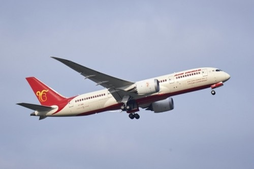 Air India aircraft in flight