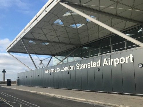 London Stansted aiport terminal