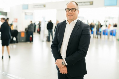 Steve Griffiths, Managing Director of London Stansted