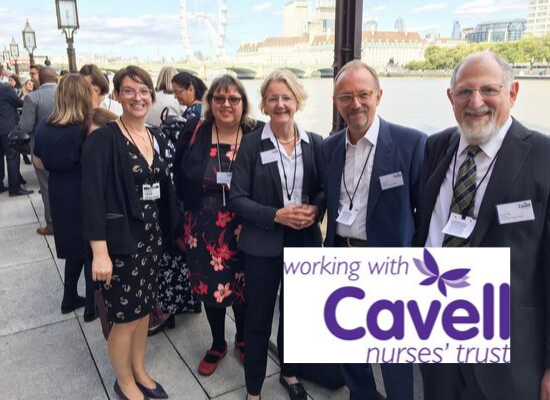 Arthur Rank Hospice Charity Collegues with Cavell Nurses Trust
