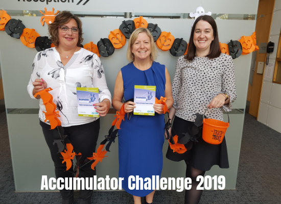 Arthur Rank Hospice Charity launches Accumulator Challenge 2019
