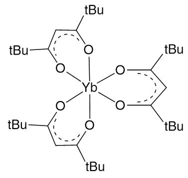 Tris(2,2,6,6-tetramethyl-3,5-heptanedionato)ytterbium(III), 99% :