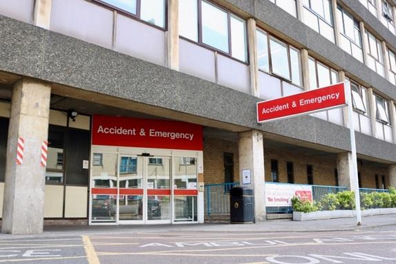 A&E entrance at Addenbrooke's