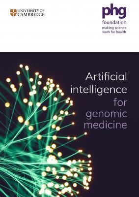 AI for genomic medicine cover