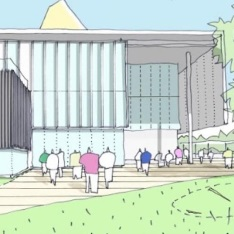 artist's impression of ARU Peterborough