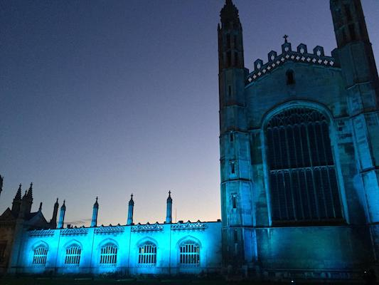 King's College Cambridge Blue for NHS