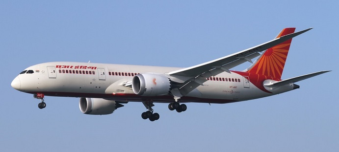 Air India Boeing 787-8 (iStock)