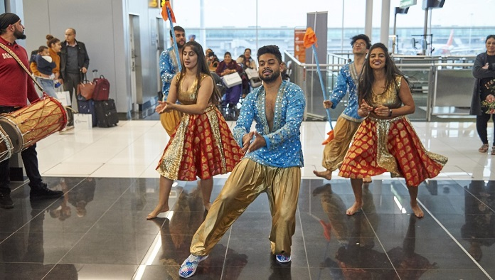 Air India launch event at London Stansted Airport/ timwinter.co.uk