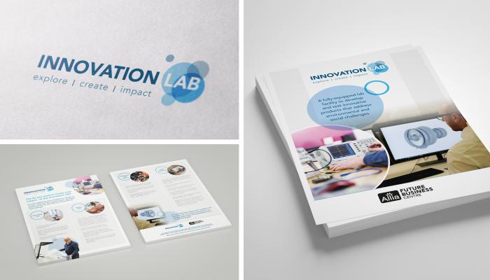 D&A Creative's branding materials for Allia Future Business Centre