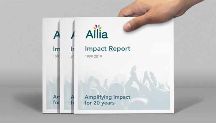D&A Creative produced new materials for Allia