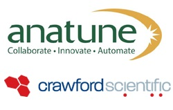 Anatune logo and Crawford Scientific Holdings logo