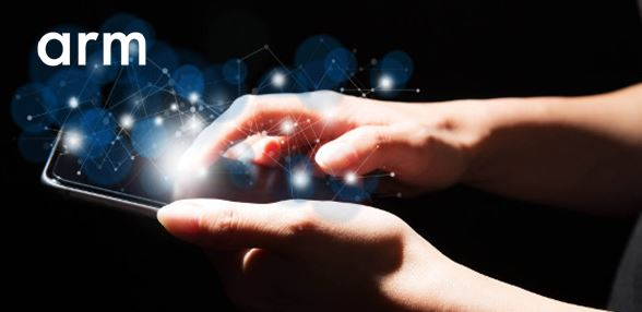 smartphone held in two hands