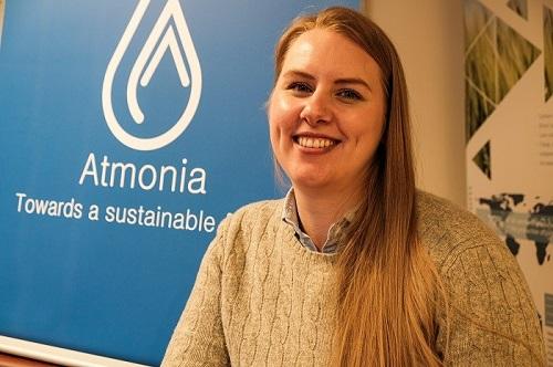 Guðbjörg Rist, the CEO of Atmonia