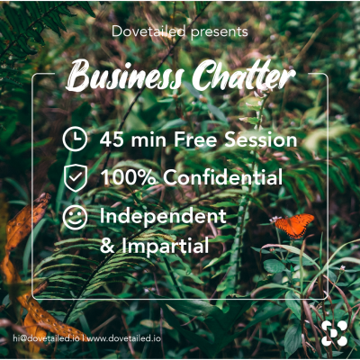 Business Chatter banner