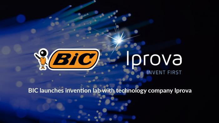 Bic and Iprova Invention Lab banner