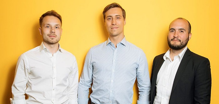 Sprout.ai team - Raphael Guth, COO; Niels Thone, CEO and Greg Cadel, CTO