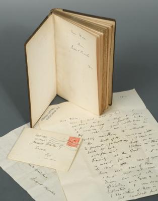 Rupert Brooke letters lead Cheffins Library Sale