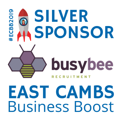 Busy Bee silver sponsor East Cambs Business Boost