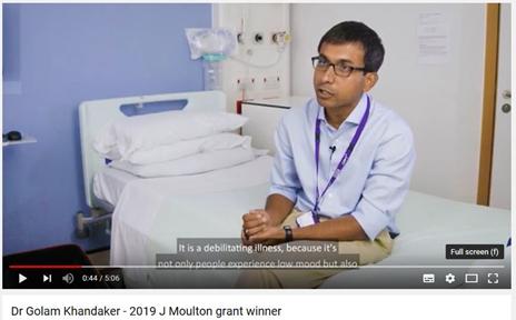 still from video featuring Dr Golam Khandaker