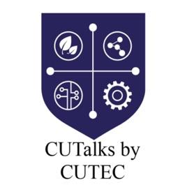 CU Talks shield