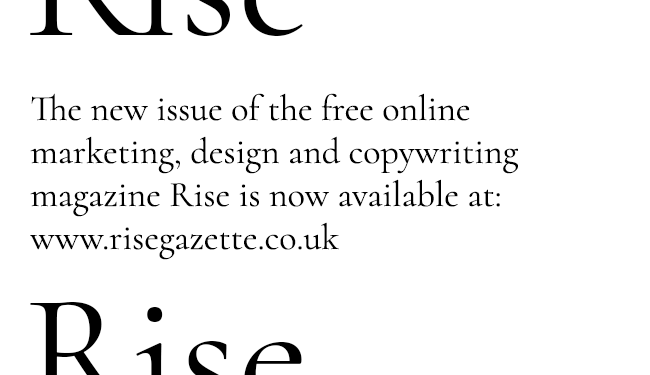 Rise online graphic
