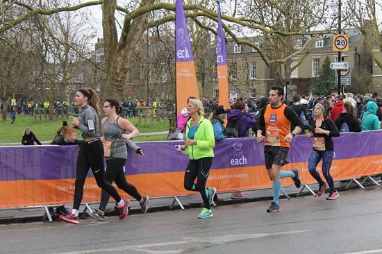 Run the Cambridge Half Marathon and raise money for EACH