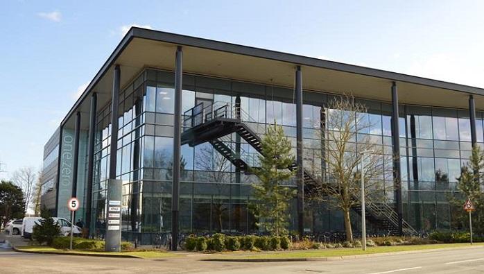 Cambridge labs building