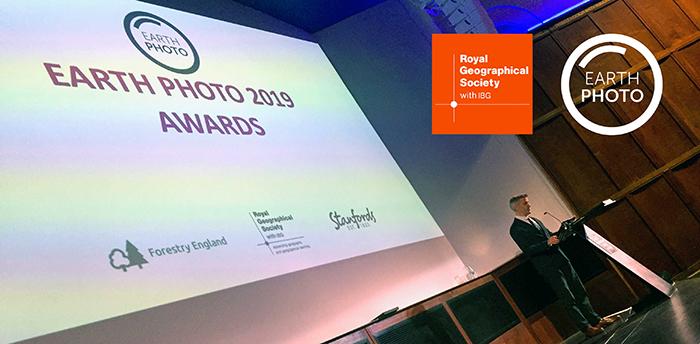 Cambridge Filmworks wins Royal Geographic Society Earth Photo 2019