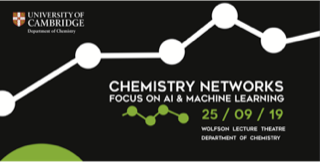 Chemistry event, AI and machine learning, Cambridge