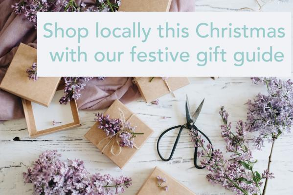 Shop locally this Christmas - banner