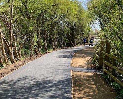 Coton path and bridge update