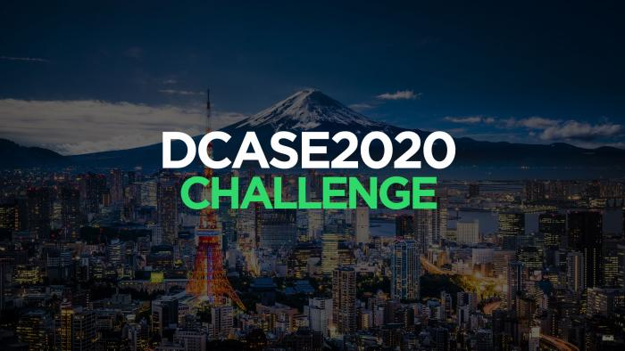 DCASE 2020 Challenge banner