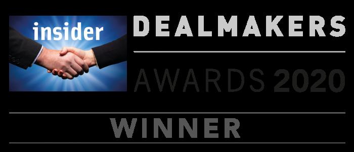 Dealmakers Awards 2020 Winner
