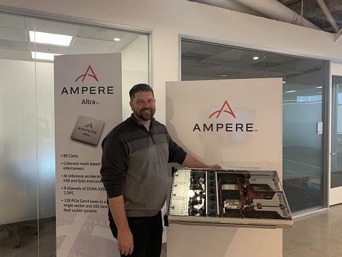 Data centre Ampere event