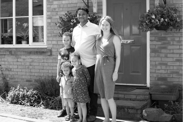 The Jepsoa Family dortrait